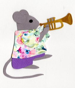 T for trumpet, Mouse playing a trumpet